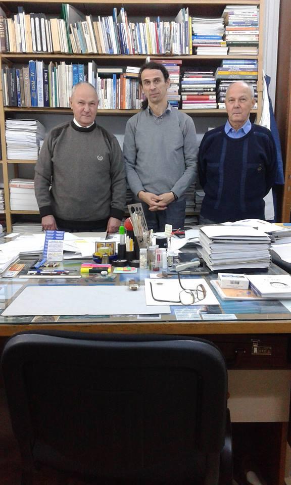 Profs. Habils. DrsHC. Drs. Dan Riga şi Sorin Riga